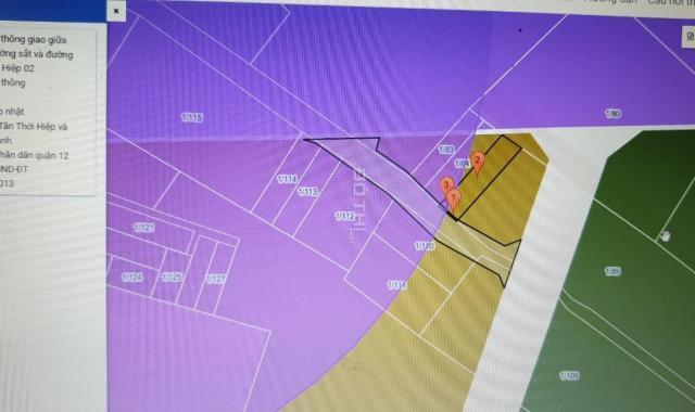 Cần sang gấp 101.1 m2 đất thổ cư Tân Thới Hiệp, Q12, giá 4.3 tỷ