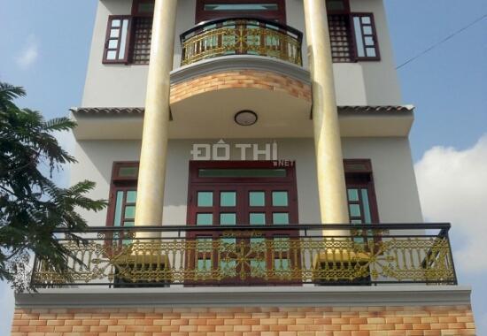 Nhà lô góc 2 MT, 1 trệt, 2 lầu mới xây đẹp, kế Thống Nhất, tiện KD, đường 8m, SHR, giá TT 1.6 tỷ