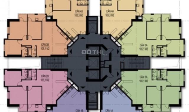 Bán căn hộ chung cư tại dự án Unimax Twin Tower, Hà Đông, Hà Nội, diện tích 113m2, giá 1.8 tỷ