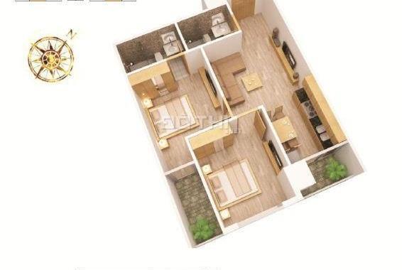 Chính chủ bán gấp căn góc đẹp chung cư Mỹ Sơn 62 Nguyễn Huy Tưởng đã có nội thất giá cực rẻ
