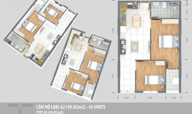Mở bán đợt cuối block B2 căn hộ Green Town Bình Tân, giá chỉ 1.2 tỷ