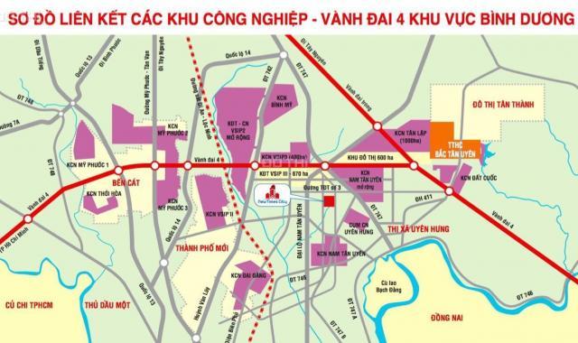 Bán đất tại dự án New Times City, Tân Uyên, Bình Dương, diện tích 100m2, giá 340 triệu (30%)