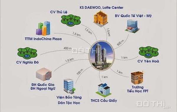 Cần bán gấp căn hộ Mỹ Sơn Towers, 62 Nguyễn Huy Tưởng, 100,9m2, giá cực rẻ 23,5 tr/m2