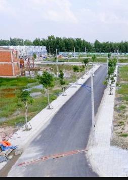 Đất MT đường Nguyễn Thị Búp, quận 12. Đã có sổ riêng từng nền, khu dân cư đông đúc, xây tự do