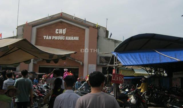 Chỉ 1,1 tỷ sở hữu đất mặt tiền đường 7m trung tâm Tân Phước Khánh, Tân Uyên, Bình Dương