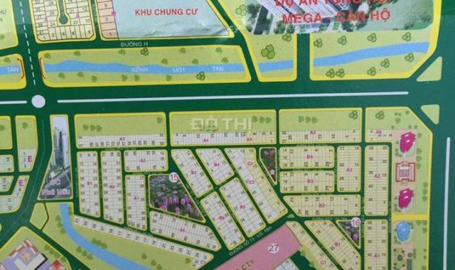 Cần bán 1 số nền đất nền biệt thự quận 9, dự án khu dân cư Phú Nhuận, sổ đỏ cá nhân