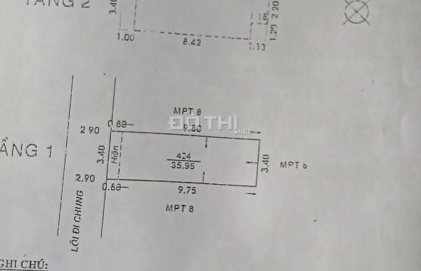 Bán nhà 72/2/10B Phan Huy Ích, P. 15, Q. Tân Bình, TP. HCM. Hướng Tây Bắc