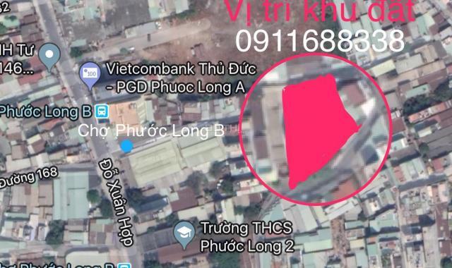 Bán đất chợ Phước Long B, Đỗ Xuân Hợp, Quận 9. 4 x 14m, giá 3,472 tỷ
