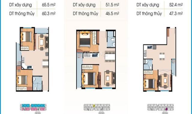 Bán căn hộ chung cư tại đường Bưng Ông Thoàn, Phường Phú Hữu, Quận 9, Hồ Chí Minh, diện tích 52m2