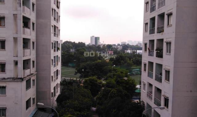 Cần cho thuê căn hộ chung cư Phú Thọ, khu Lữ Gia, Q11, DT 65m2, 2PN, 2WC, nhà trống, giá 9 tr/th