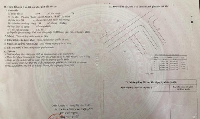 Bán lô đất DT 90m2 đường D1 (25m) dự án Nam Long, LH: 0905004399