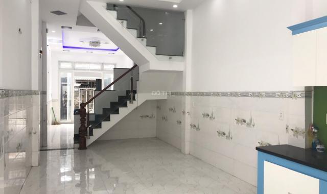 Bán nhà mới HXH gần siêu thị Metro, 3.8mx20m, 1 trệt, 2 lầu (4PN), giá 3 tỷ 750 tr, sổ hồng mới