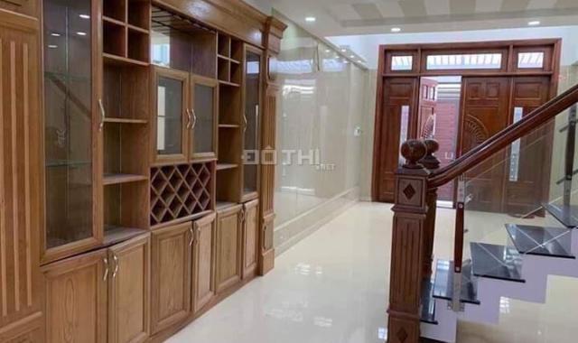 Bán căn nhà cực đẹp, 1 trệt, 1 lửng, 2 lầu, 1 ST, nhà xây mới, hẻm 1 sẹc 6m nhựa Lê Trọng Tấn