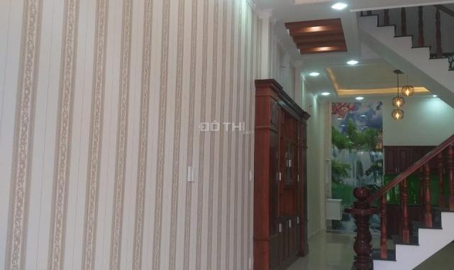 Nhà bán 4m x 17m đúc 4 tấm, hẻm nhựa 6m, sổ hồng riêng, giá 4,35 tỷ