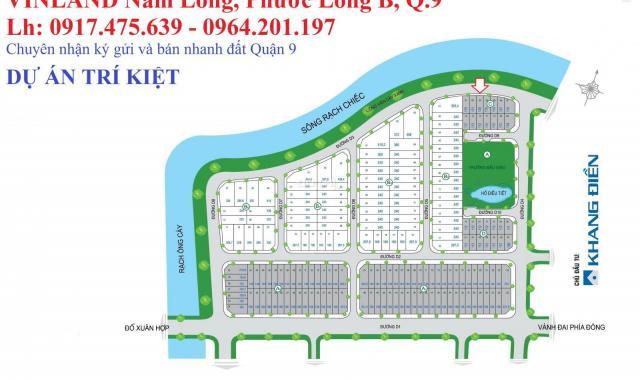 Bán đất Trí Kiệt, nền B3: 8x30m, hướng Tây Nam, gần công viên, giá bán tốt 29.5 tr/m2