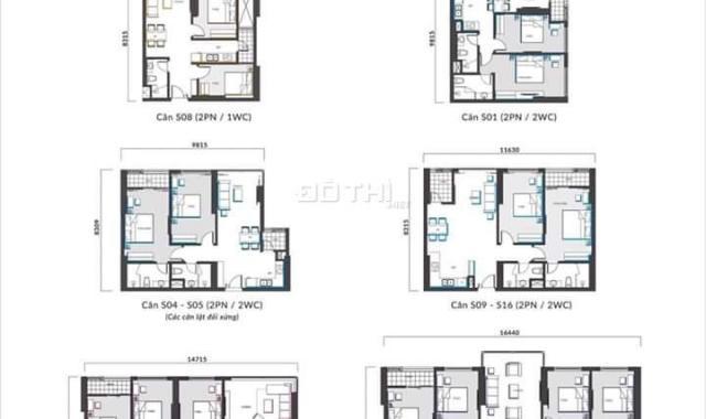 Bán căn hộ 2PN dự án Mipec Xuân Thủy giá cực tốt