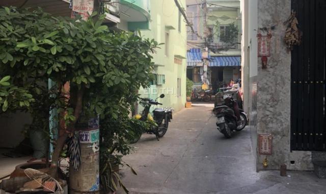 Bán nhà 2 căn đôi tổng, DT 58.2m2, đường Mai Xuân Thưởng, Quận 6. Giá 6.4 tỷ