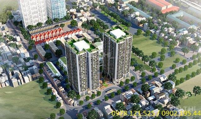 Bán căn hộ chung cư tại dự án Thống Nhất Complex, Thanh Xuân, Hà Nội, DT 67m2, giá 28 Tr/th