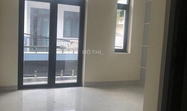 Bán nhà xây mới hẻm thông 8m 1 sẹc đường Số 5, Bình Hưng Hoà, Bình Tân. DT: 4,3x12m, trệt, 3 lầu
