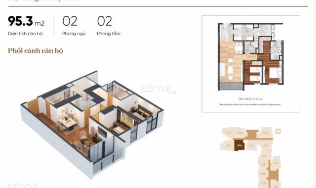 Bán căn ngoại giao Chelsea Residences E2 Yên Hòa 95.5m2 giá rẻ - 0903279587
