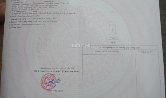 2,37 tỷ giá tốt cho mua ở hay đầu tư 66m2 đất sổ đỏ, gần Quốc Lộ 32, thị trấn Phùng, Đan Phượng