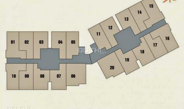 Bán căn diện tích 73m2 giá 1.9 tỷ, có sổ đỏ, chung cư New Horizon 87 Lĩnh Nam, Hoàng Mai