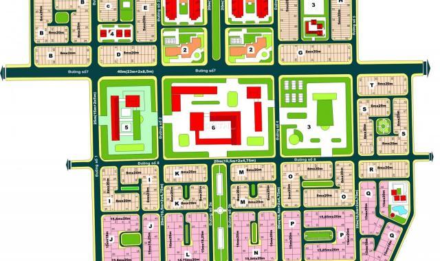Bán nhà biệt thự dự án Huy Hoàng, P. Thạnh Mỹ Lợi, Quận 2 - (15x20m) đường 20m, giá 53 tỷ