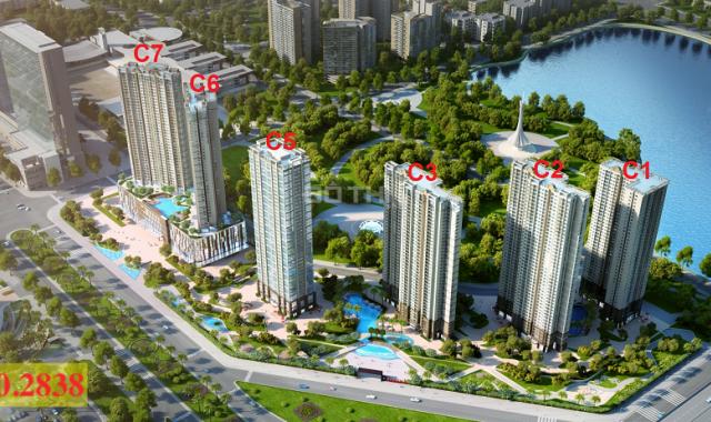 Chính chủ bán cắt lỗ căn 2 phòng ngủ, hướng Đông Nam, chung cư D'Capitale Trần Duy Hưng