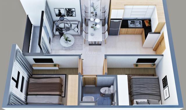 Chỉ 1 căn duy nhất, căn hộ 2 PN, TP. Dĩ An, giá chỉ 1 tỷ 045 tr. Gọi ngay: 0909 4040 16
