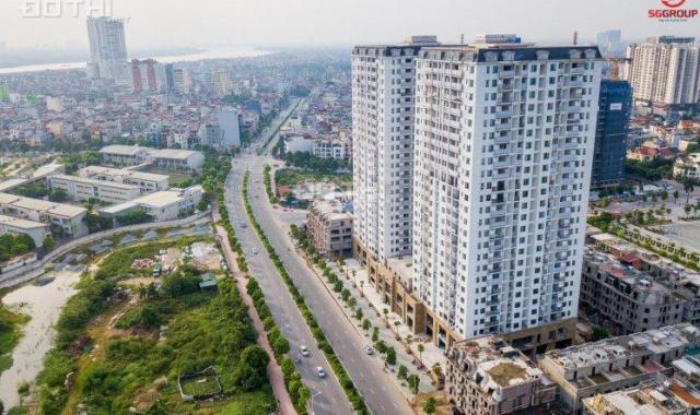 Bán CH HC Golden City Bồ Đề, Long Biên 72m2 2PN. View sông Hồng, CK 4%, LS 0%, 12th chỉ 2.5 tỷ/căn