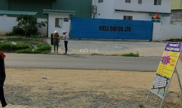 Bán đất gần KCN Nam Tân Uyên. Ngang 4.5m dài 16m giá 850tr