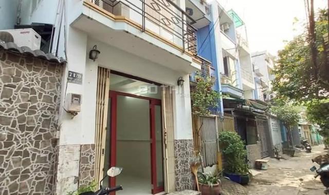 Bán nhà sổ hồng riêng đường Lê Văn Thọ, phường 9, Gò Vấp đúc một trệt, một lầu