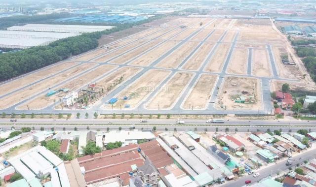Bán đất mặt tiền ĐT 746, cạnh vòng xoay Kim Hằng, 3 mặt giáp với cụm KCN Nam Tân Uyên
