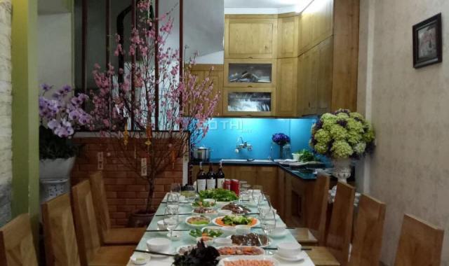 Nhà ngõ 59 Dương Khuê, 5m ra đường ô tô tránh, 5 tầng, mới đẹp, giá 3.1 tỷ