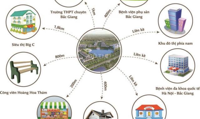 Chung cư Bách Việt Bắc Giang 2 phòng ngủ - 180 tr ký ngay HĐMB - Nhận nhà ở ngay - Sổ hồng trao tay