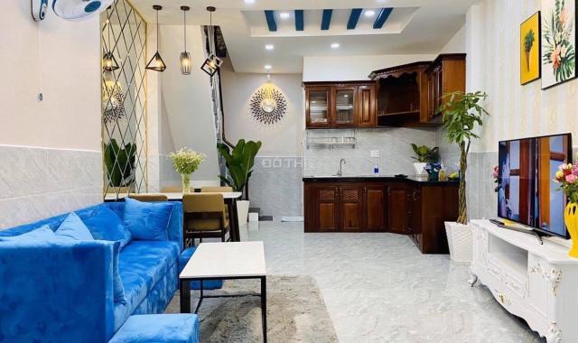 Nhà mới 100% siêu đẹp lung linh mới, DT 35m2 nở hậu, ngay TT P. 6, Gò Vấp