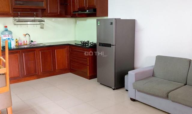 Cho thuê căn hộ chung cư Phú Hoà, diện tích 45m2, đầy đủ nội thất, đầy đủ tiện ích, giá chỉ 6tr/th