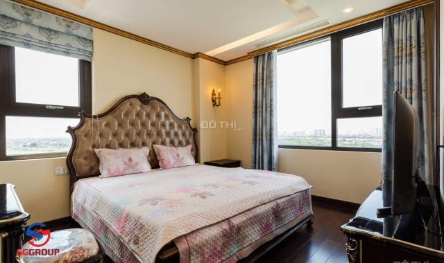 Căn góc 3PN, 87,3m2, view Đông Nam DA HC Golden City, chỉ 3,784 tỷ, full nội thất