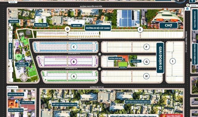 Mở bán dự án Tân Hiệp Central đã có sổ giá 864tr/nền - LH 0989.545.291