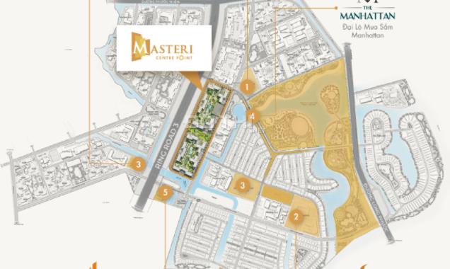 Căn hộ cao cấp Masteri Centre Point Q9