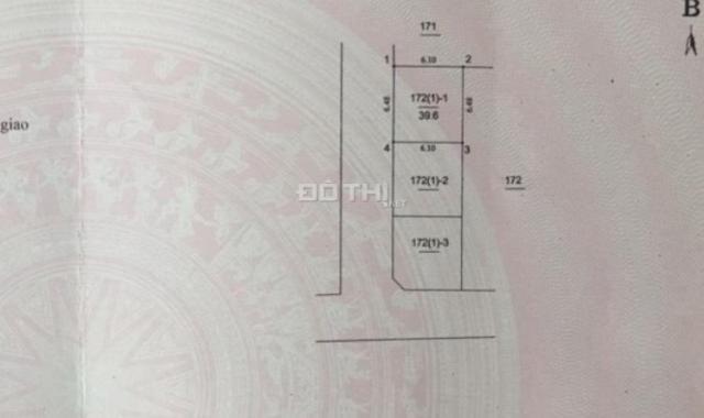 Bán nhanh mảnh đất 40m2, ôtô vào tại Tổ 12 Thạch Bàn, Long Biên, gần trường cấp 3 Thạch Bàn, 1,85tỷ