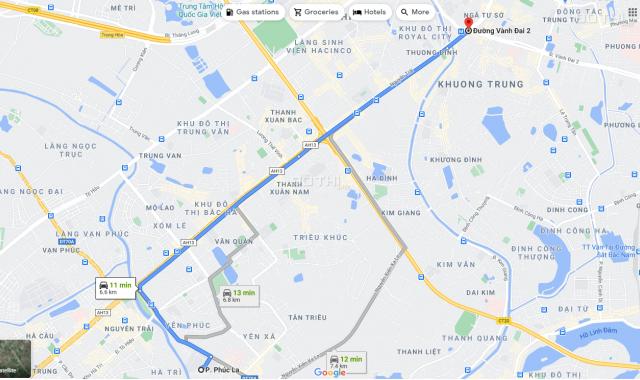Bán nhà 2 tầng 3 mặt thoáng Xa La, Hà Đông, HN, 1.52 tỷ
