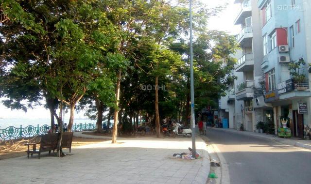 Bán 130m2 lô góc rộng 7m mặt phố Trấn Vũ, Ba Đình, kinh doanh, view hồ, 55 tỷ