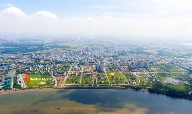 Bán nhà phố, biệt thự Sài Gòn Mystery Villas, Thạnh Mỹ Lợi, quận 2. LH Ms Quyên 0902.823.622