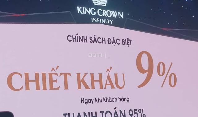 King Crown Infinity - Nhiều tiện ích xung quanh - Tiềm năng tăng giá cao DT: 54 - 86 - 103m2