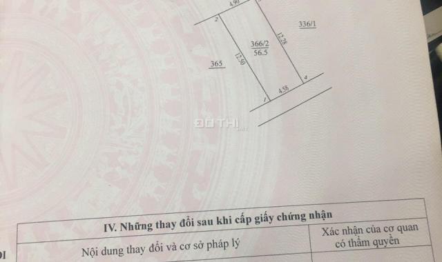 Bán nhà cấp 4 đường trục chính Lai Xá, diện tích 56.5m2, sổ đỏ chính chủ