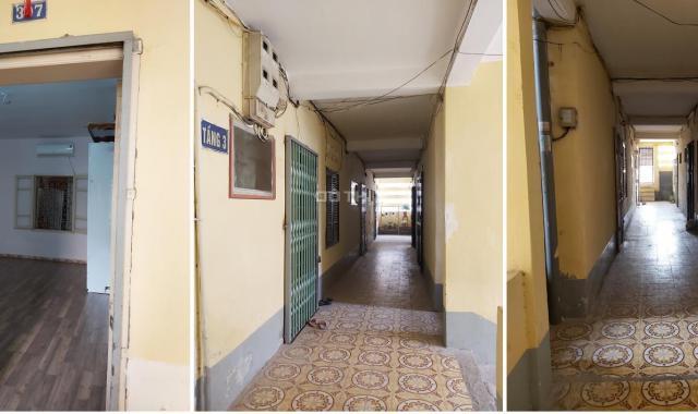 Bán nhà tập thể tầng 3 ngõ 79 Nguyễn Chí Thanh, Đống Đa, diện tích sử dụng 65m2, nhà đẹp ở luôn