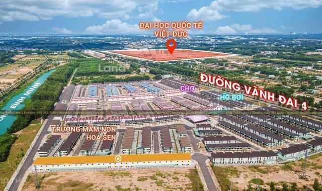 Nhà liên kế vườn Oasis City, đối diện ĐH Việt Đức tại Bến Cát, Bình Dương