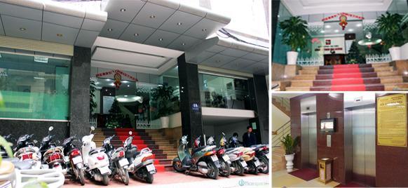 45m2 VP cho thuê tại nhà VP 9 tầng số 11 Thái Hà, giá 10 triệu/tháng. LH 0986646169