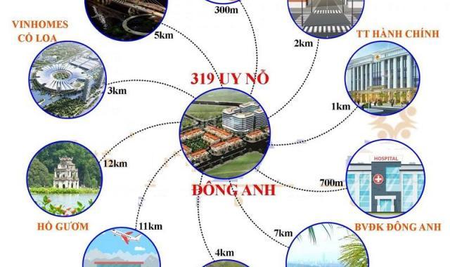 Nhanh tay đặt chỗ đợt 1 tại dự án 319 Uy Nỗ Đông Anh Hà Nội LH 0975676534
